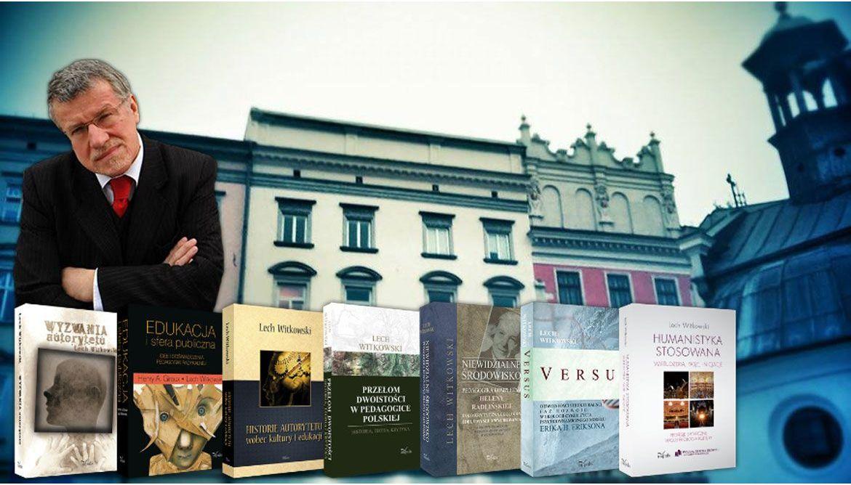 Spotkanie z  prof. Lech Witkowski
